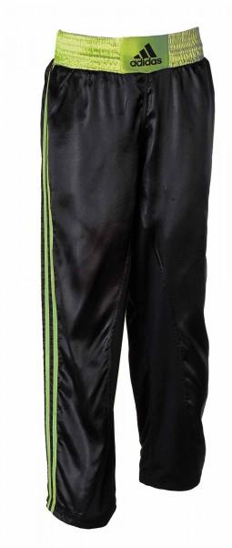 adidas Kickbox-Hose schwarz/shock lime, adiKBUN110T