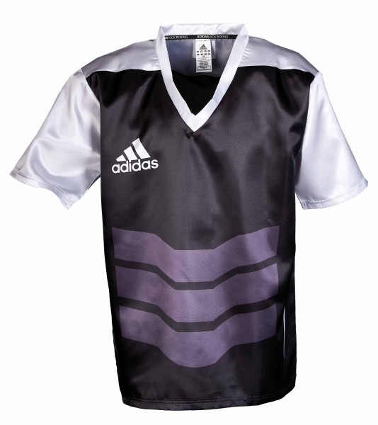 adidas Kickbox-Shirt schwarz/weiß, adiKBUN210S