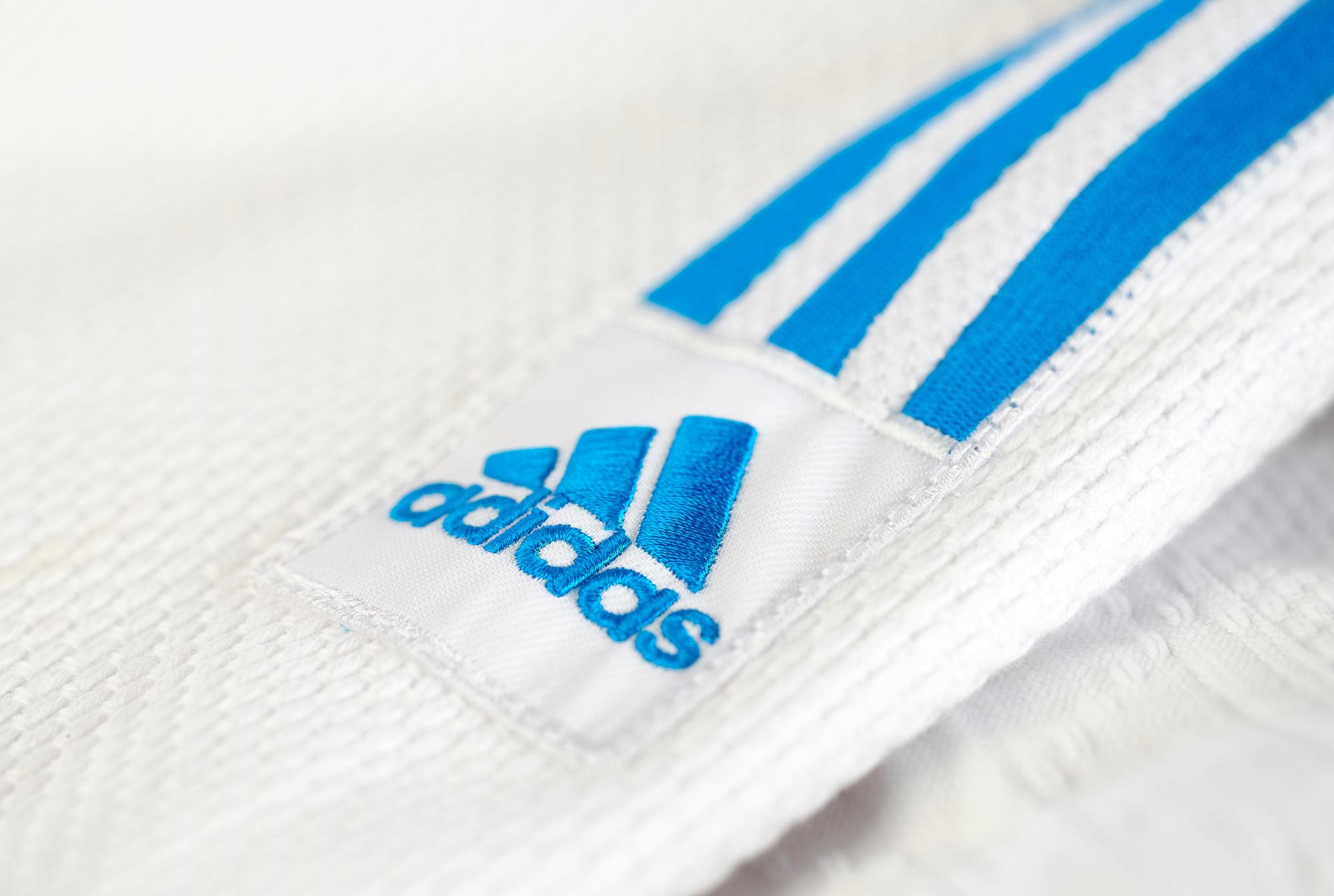 adidas blau 32 pinke streifen