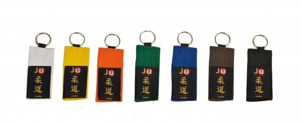 Schlüsselanhänger Gürtel Judo