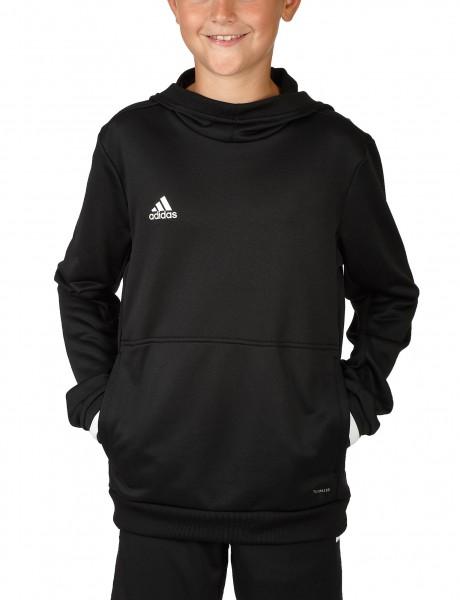adidas T19 Hoodie Kids schwarz/weiß, DW6871