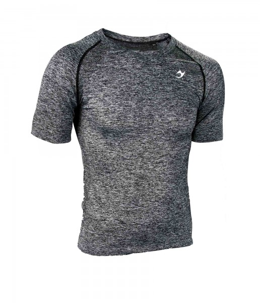 "Ju-Sports ""Gym-Line"" Tee Marble men grey"
