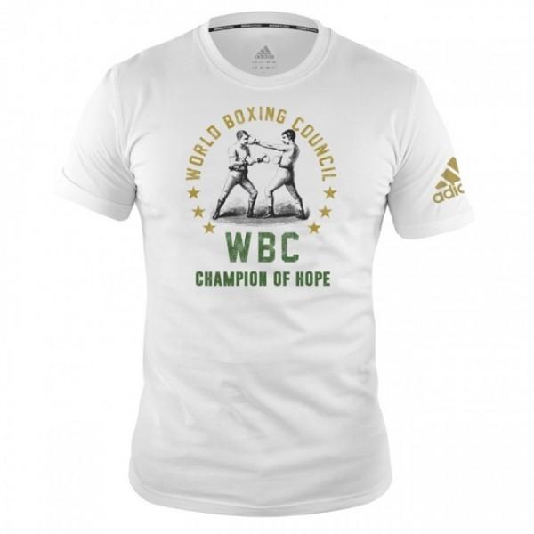 adidas WBC T-Shirt Champ of Hope - white, adiWBCT01