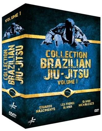 3 DVD Box Brazilian Jiu-Jitsu Vol. 1 COF 62