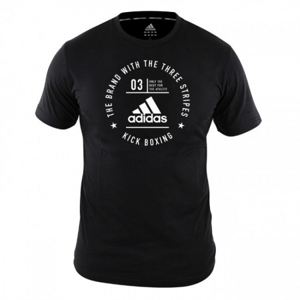 adidas Community Line T-Shirt Kickboxing black/white, adiCL01KB