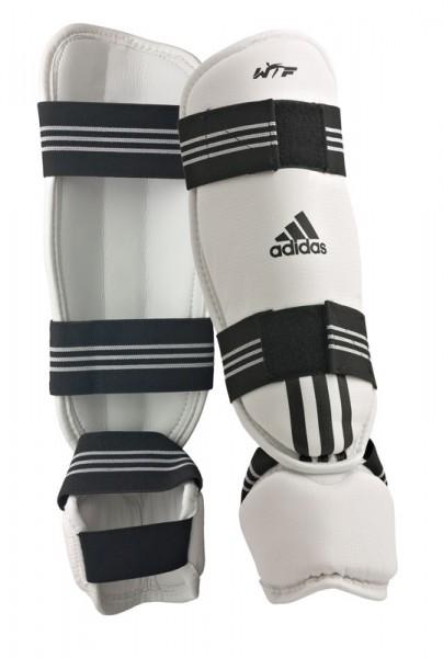 adidas Schienbein-Spannschutz PU weiß ADITSP02