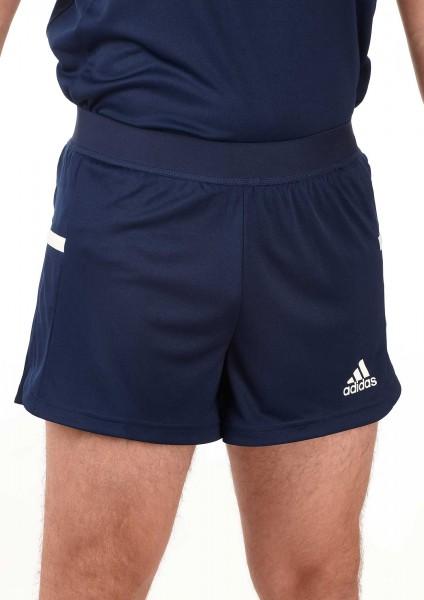 adidas T19 Run Shorts Männer blau/weiß, DY8849