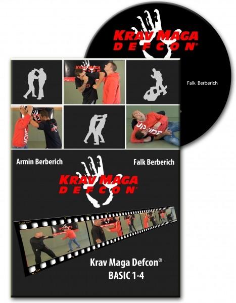 DVD - Krav maga DEFCON ® BASIC 1-4