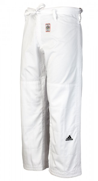 multiple colors detailed look buying new adidas Judo-Hose IJF weiß, JT275