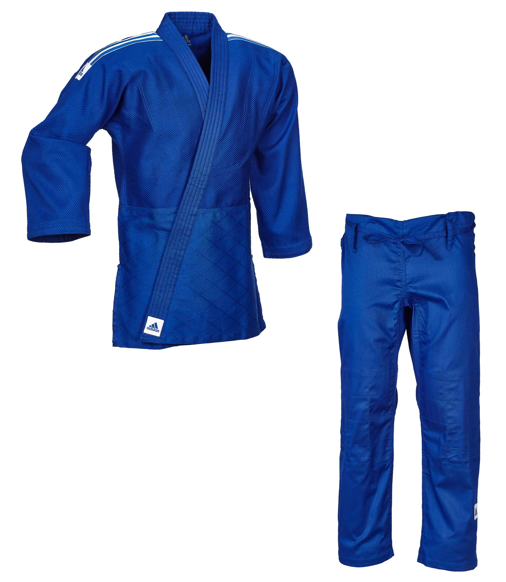 patio de recreo corto El diseño  adidas judo gi Training J500 blue/white stripes | adidas | Brands |  Ju-Sports
