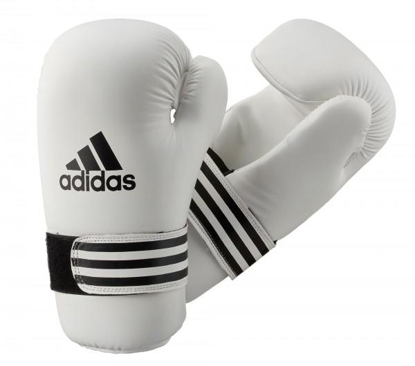 adidas Kick-Boxhandschuhe Semi Contact weiß, ADIBFC01