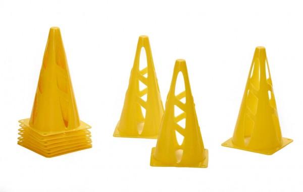 RioFit Hütchenset - Cone, 23 cm, 10 Stück