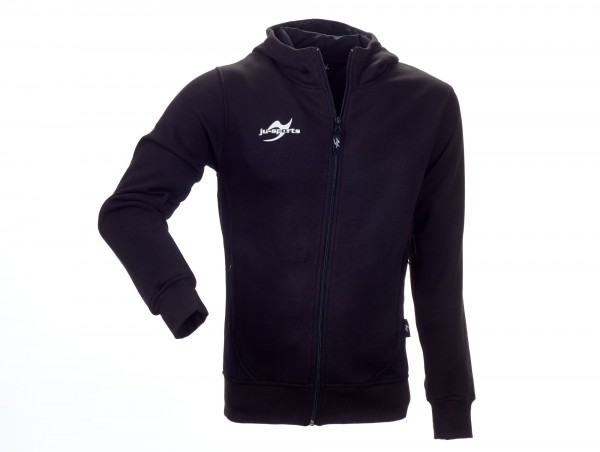 Teamwear Element Core Zip Hoodie schwarz