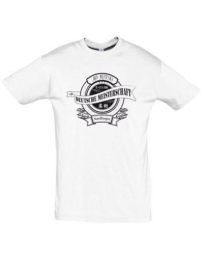 T-Shirt Deutsche Meisterschaft Ju-Jutsu 2016 Nördlingen