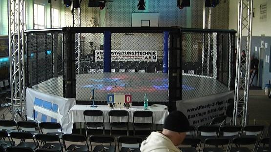 Octagon-Verleih: MMA-Käfig Octagon (für MMA und Boxen/Kickboxen)