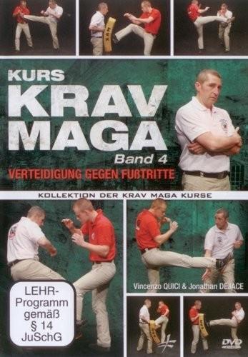Krav Maga Kurs Band 4 - Verteidigung gegen Fußtritte (301)