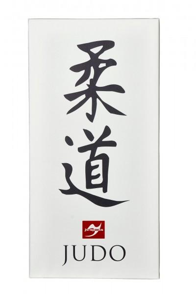 Leinwanddruck Judo Kanji, 80x40 cm