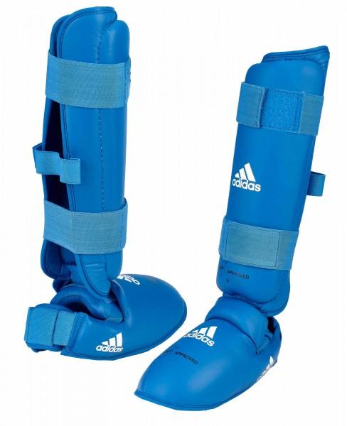 adidas Schien- & Spannschutz WKF approved blau, 661.35