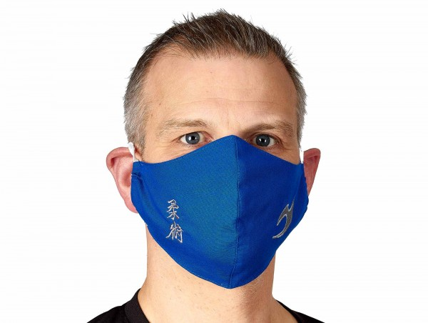 Maske für Mund und Nase - Ju-Jutsu Kanji