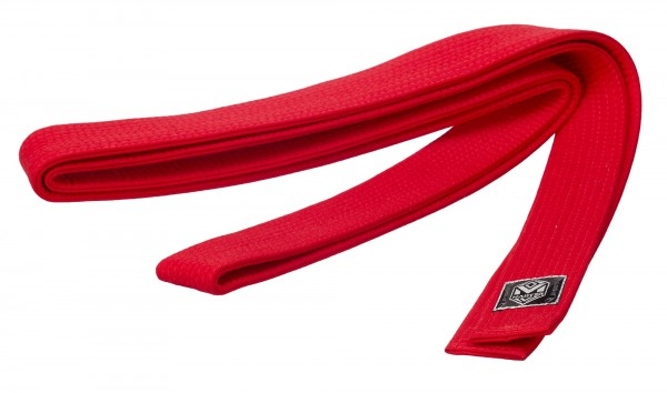 Großmeistergürtel Master rot 6 cm