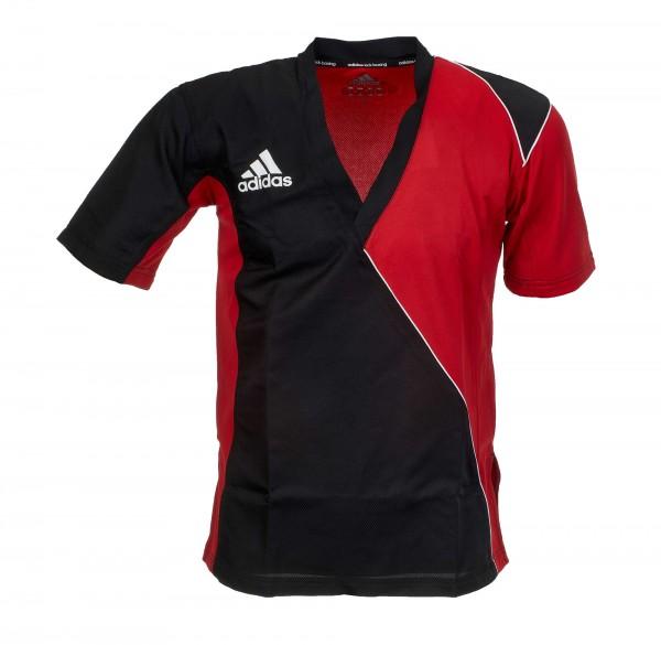 adidas Kickbox-Jacke schwarz/rot ADITU010