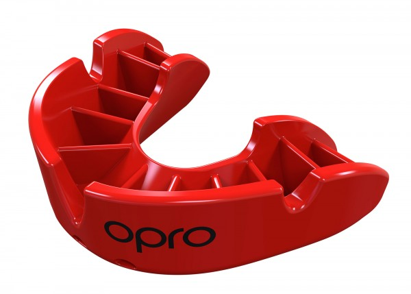 OPRO Zahnschutz Bronze - Red