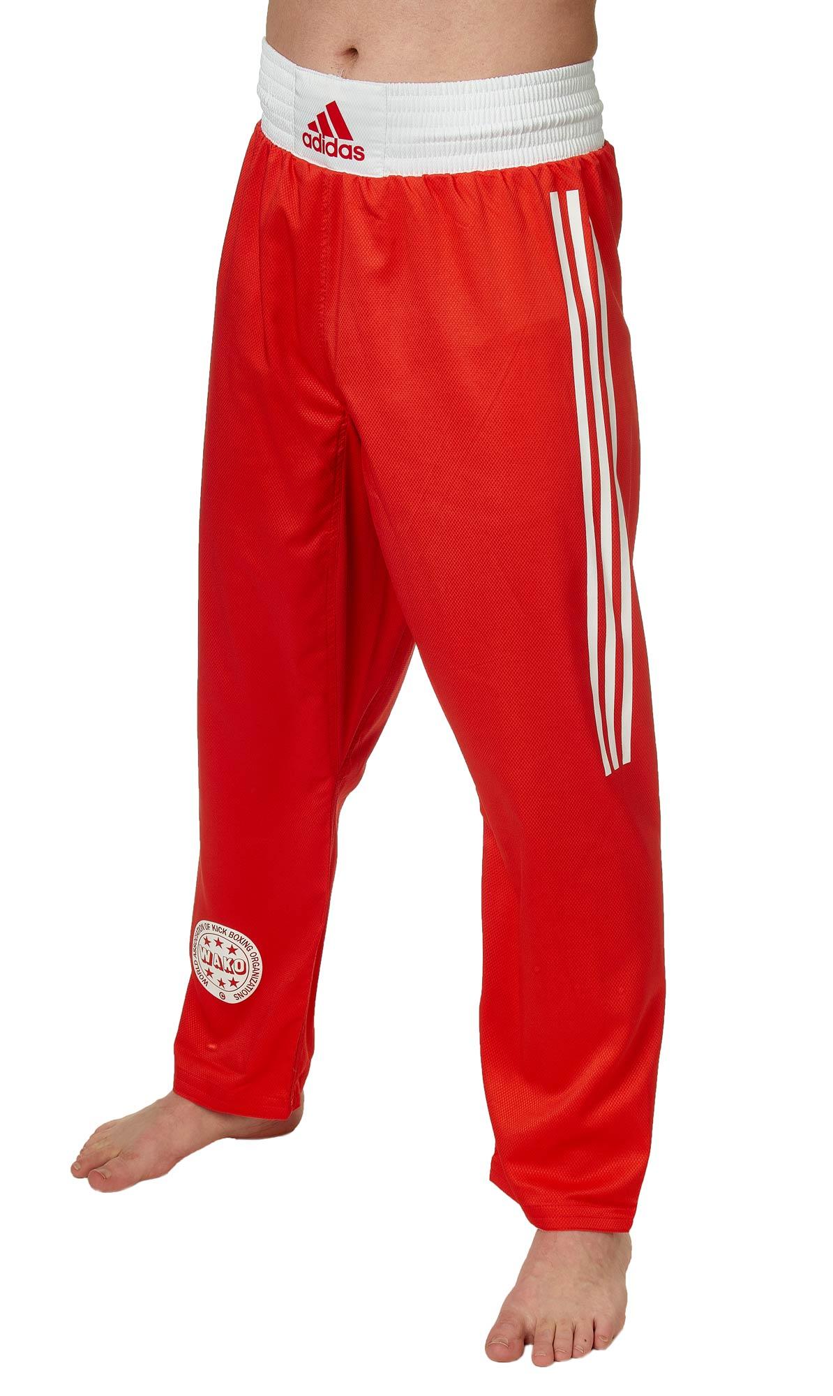 adidas Full Contact Pants Micro Diamond red, ADIFCP1