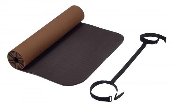 Deuser Yoga Matte braun 121045C