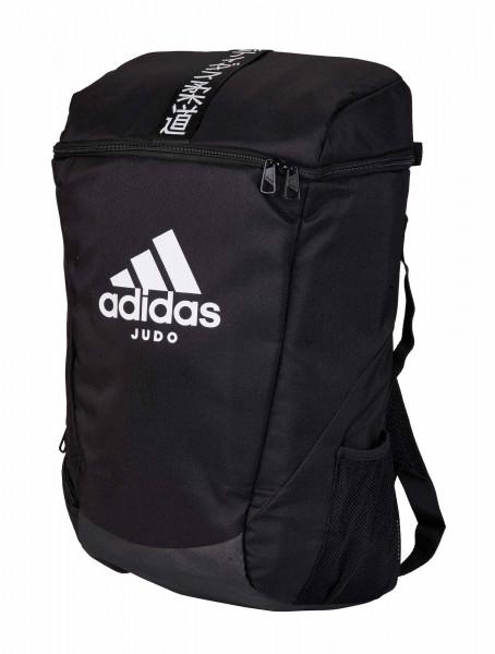 "adidas Sport Rucksack ""Judo"" black/white, adiACC090"