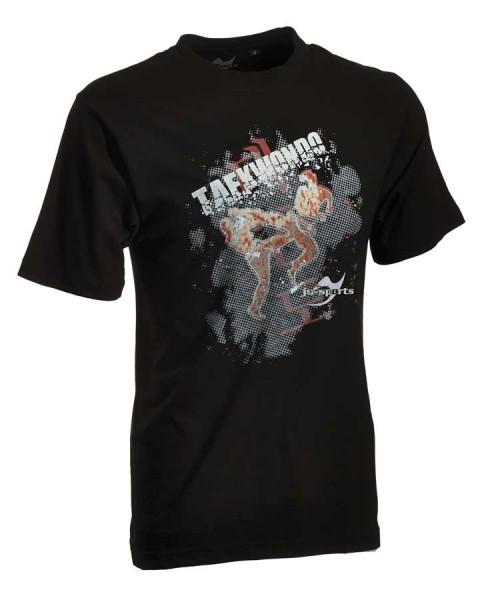 Taekwondo-Shirt Matsogi schwarz