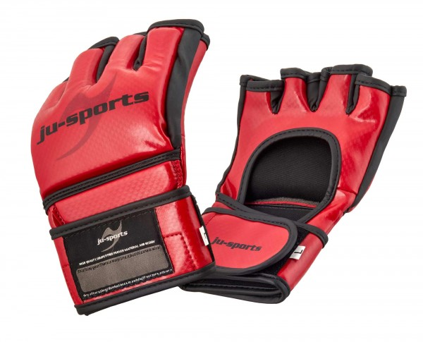 MMA Wettkampf-Handschuh Competition Pro Carbon red