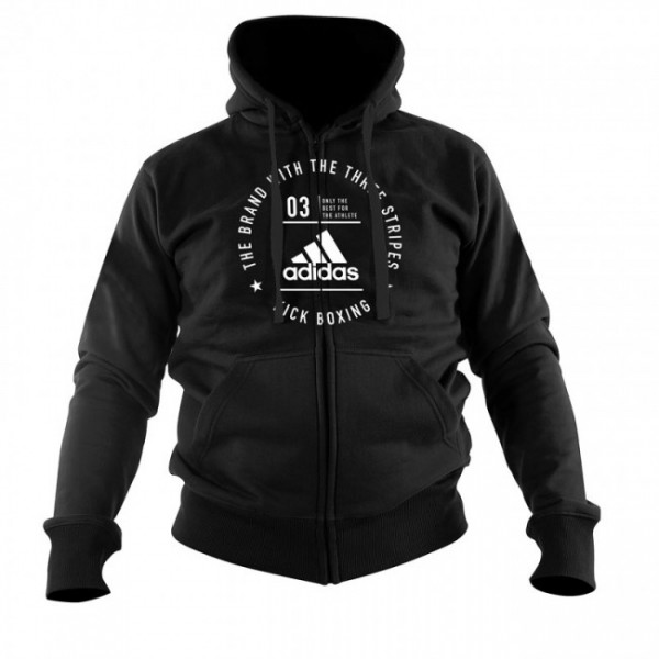 adidas Community Line Jacket Kickboxing black/white, adiCL03KB