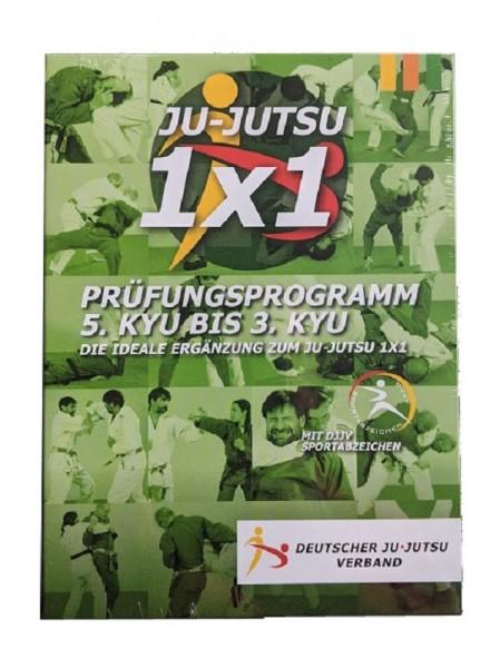 Prüfungsprogramm 5.Kyu - 3.Kyu Ju-Jutsu vom DJJV DVD 1