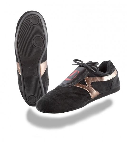 Taekwondo Schuhe Reza schwarzbronze