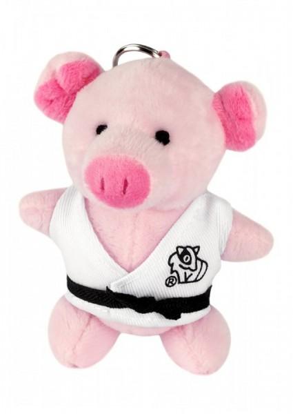 Schwein - Plüschtier-Schlüsselanhänger, ca. 10 cm