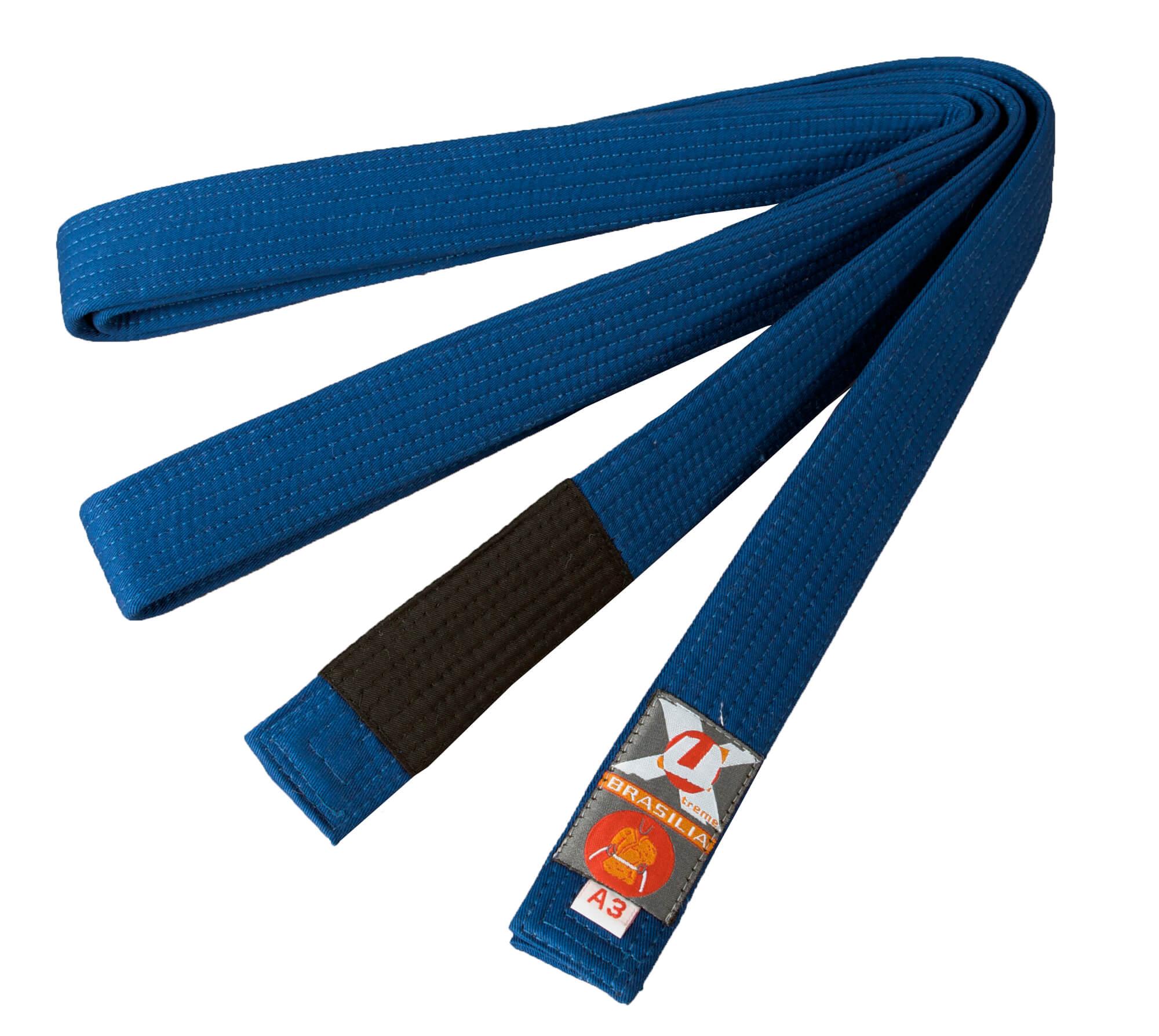 Brazilian Jiu-Jitsu belt blue