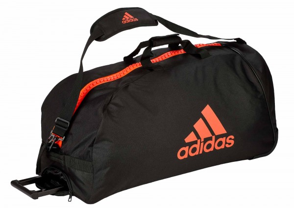 "adidas Trolley ""martial arts"" black/red Nylon, adiACC057"