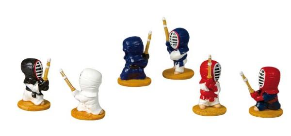 Kendo-Figuren Set 6er