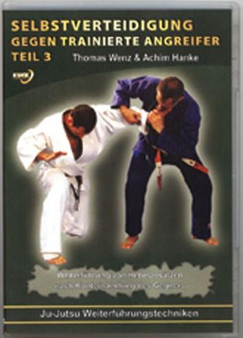 Selbstverteidigung gegen trainierte Angreifer, Teil 1-3