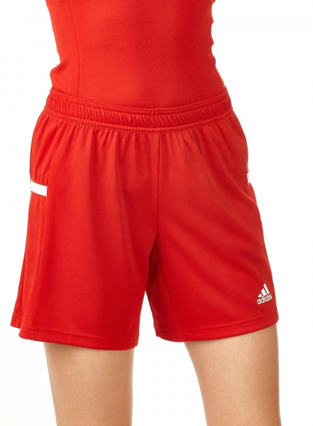 adidas T19 Knee Shorts Damen rot/weiß, DX7296