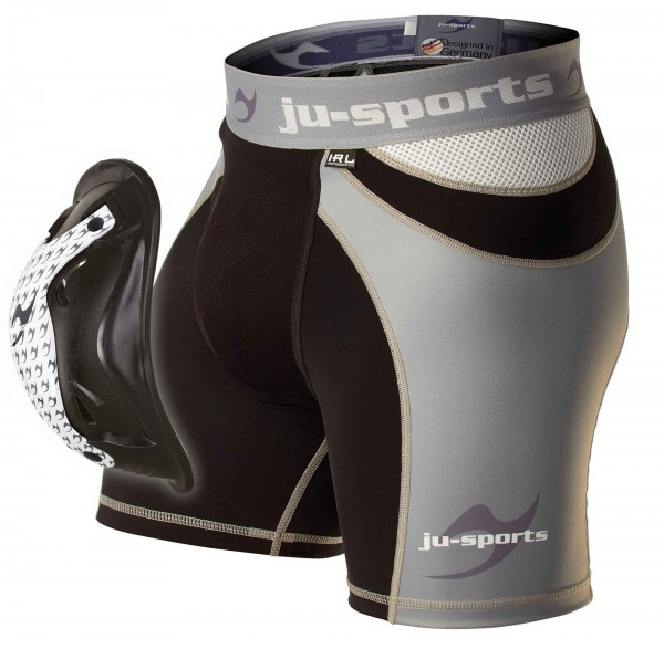 Ju-Sports Compression ProLine Shorty + Motion Pro Flexcup, Tiefschutz