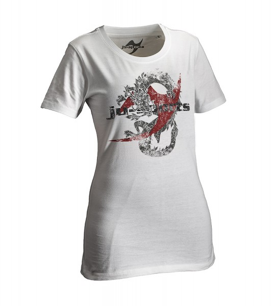 Dark-Line T-Shirt Dragon weiß Lady