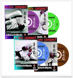 Ju-Jutsu compact - 4 DVDs