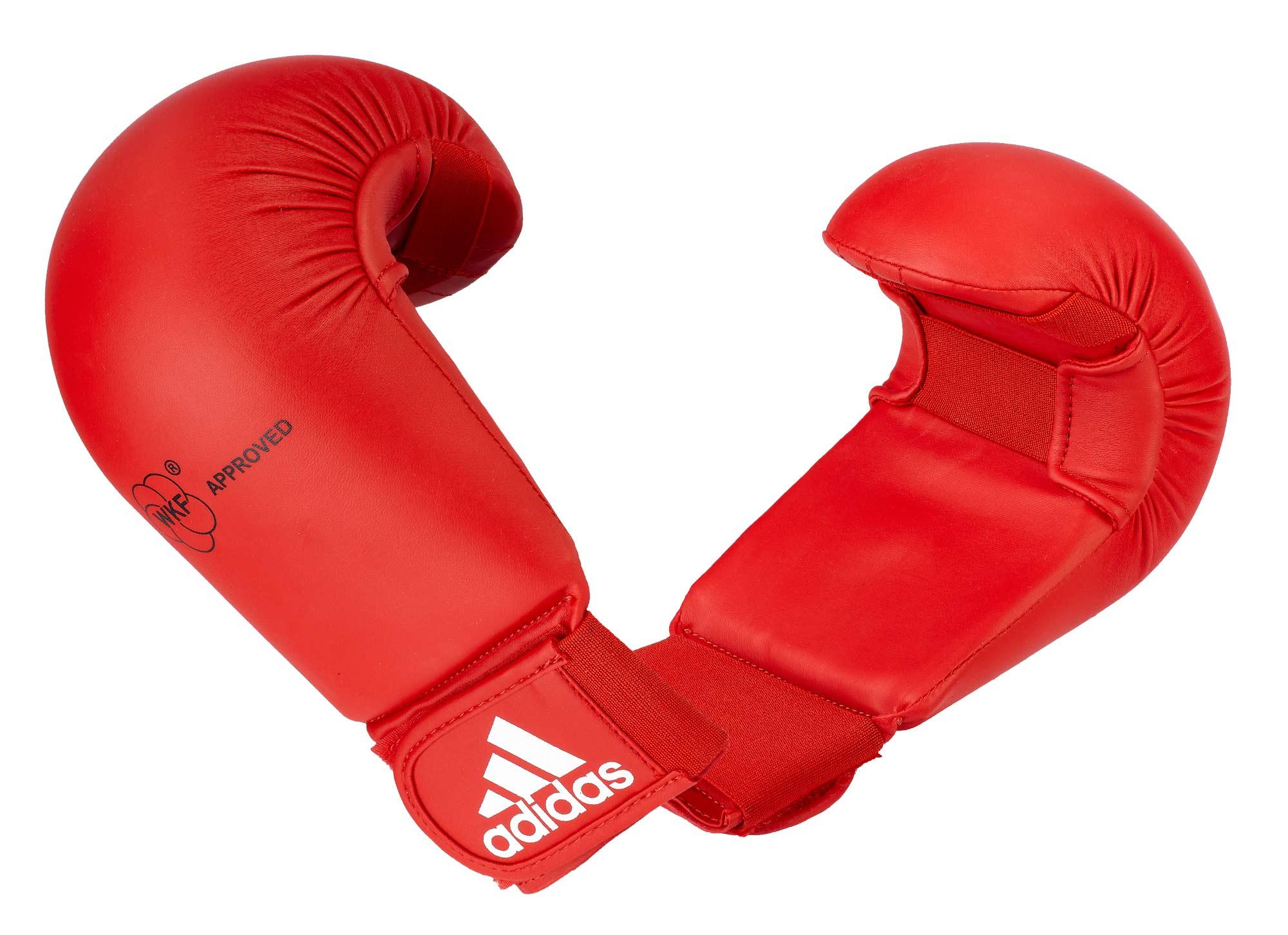 adidas Kumite Handschuhe WKF approved rot, 611.11