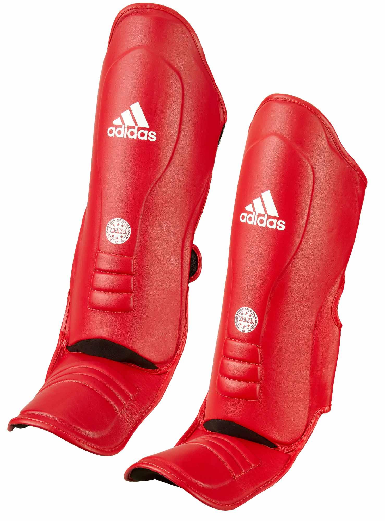 adidas Super Pro Shin n Step red, WAKO, ADIWAKOGSS11