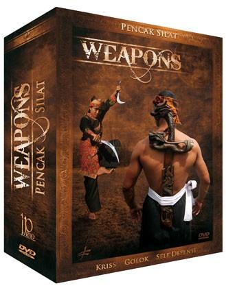 3 DVD Box Pencak Silat Weapons