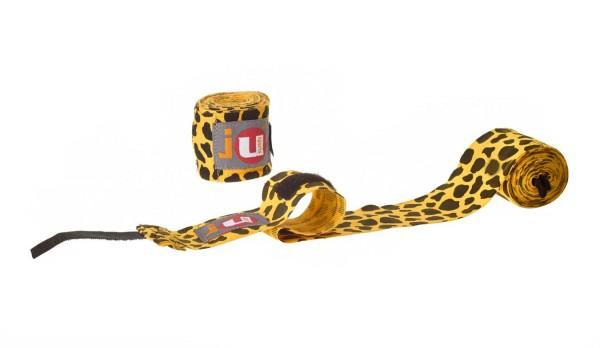 Boxbandagen unelastisch Leopard