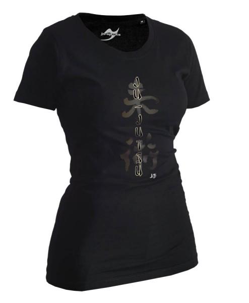 Ju-Jutsu-Shirt Classic schwarz Lady