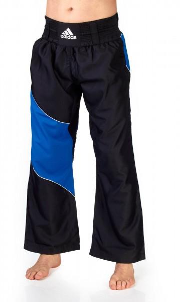 adidas Kickbox-Hose schwarz/blau ADITU010T
