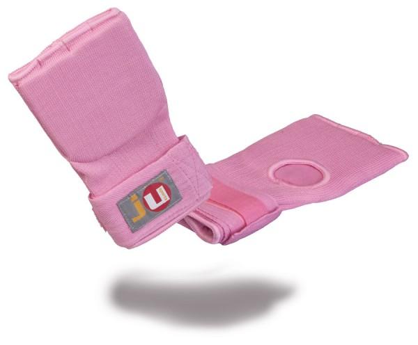 Innen-Boxhandschuhe mit Bandage Senior pink